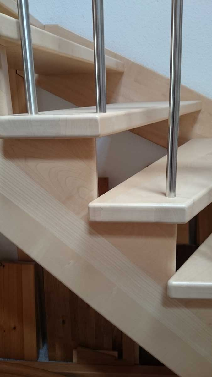 alu treppe auen affordable watt treppen led wandleuchte aluminium einbau keller birne veranda. Black Bedroom Furniture Sets. Home Design Ideas